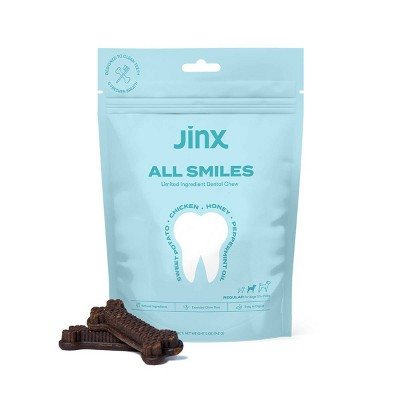 Jinx Regular Chews Dental Dog Treats - 5oz
