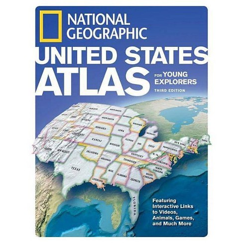 National Geographic United States Atlas for Young Explorers, Third Edition - 3 Edition (Hardcover) - image 1 of 1