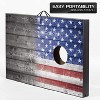 Wild Sports 2 x 3 Foot Old Glory Stars and Stripes USA Flag Cornhole Toss Outdoor Bags MDF Wood Board Game Set with 8 Bean Bags (2 Pack) - image 4 of 4