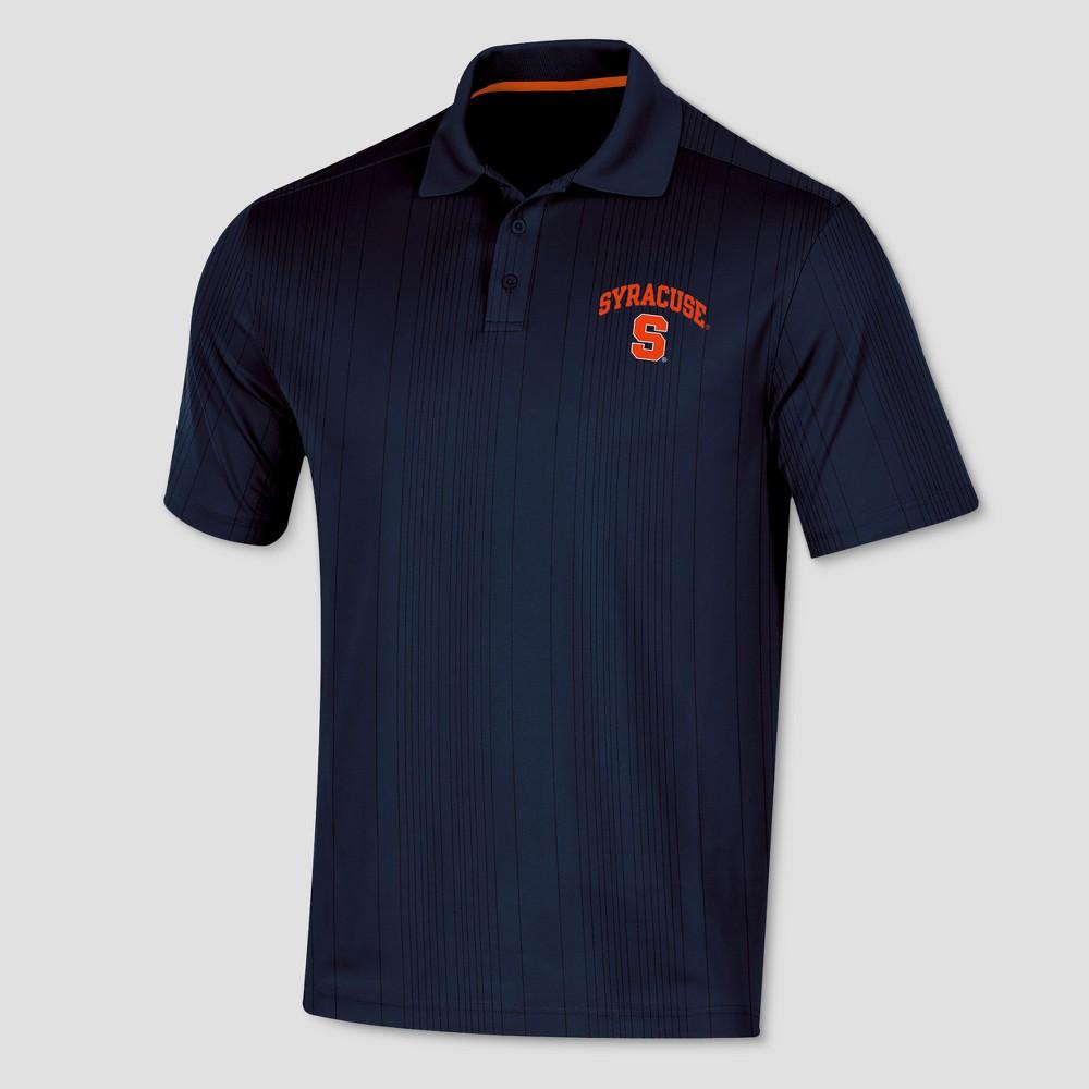 Syracuse Orange Men's Short Sleeve Game Day Polo Shirt S, Multicolored