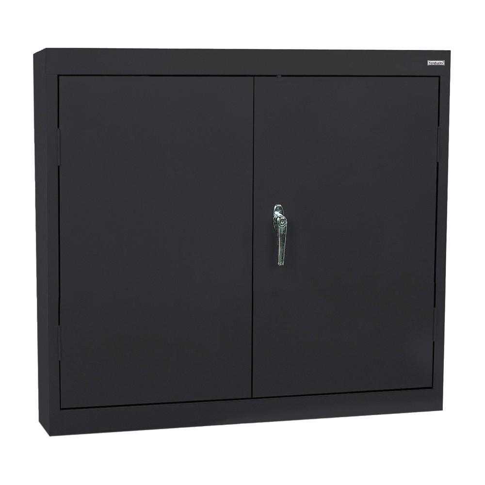 Edsal - Garage Organization Storage Cabinet - 30x12x30 - Black