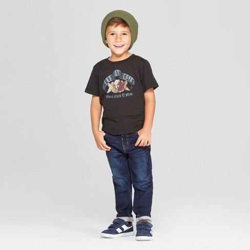 dc141b8f7 Toddler Boys' Guns N' Roses Short Sleeve T-Shirt - Black : Target