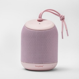 heyday™ Cylinder Portable Bluetooth Speaker With Strap - Pink