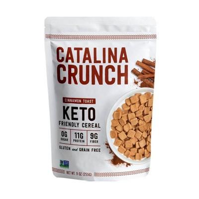 Catalina Crunch Cinnamon Toast Keto Cereal - 9oz