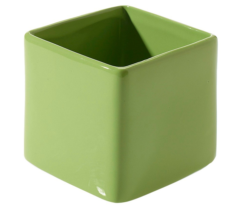 Image of Accent Décor Ceramic Vase - Green (4.75)