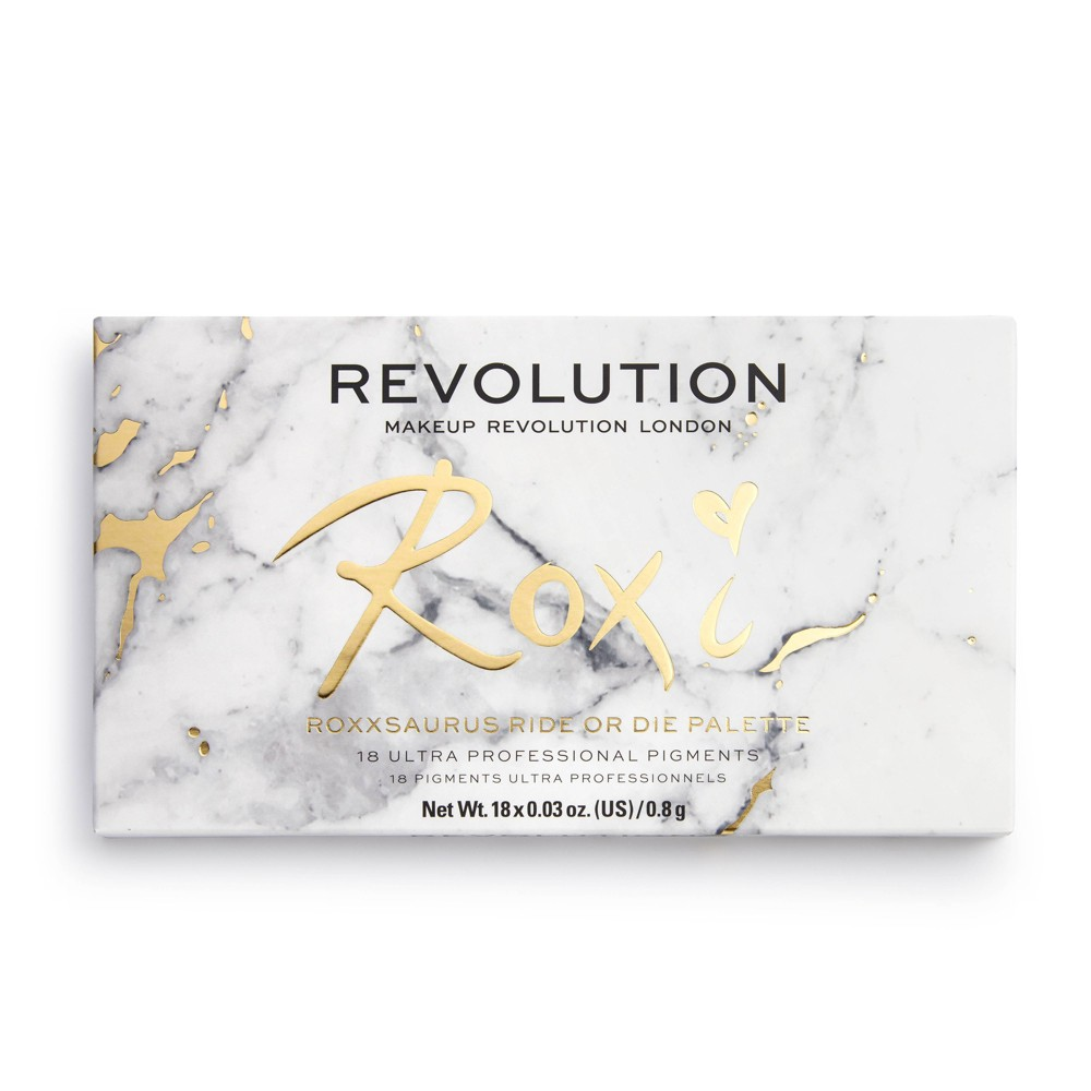 Makeup Revolution X Roxxsaurus Ride Or Die Shadow Palette 0 5oz
