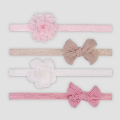 Baby Girls' 4pk Mix Headwrap Set - Just One You® made by carter's