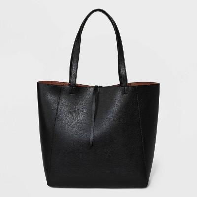Small Reversible Tote Handbag - A New Day™