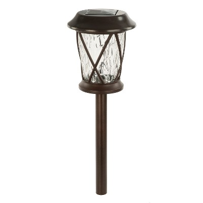 Paradise Garden Solar 4 Piece With LED Path Light - Oil Rubbed Bronze