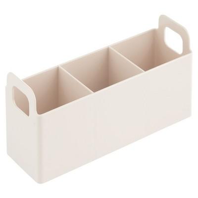 mDesign Plastic Bathroom Vanity Organizer Storage Caddy Holder