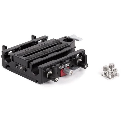 Wooden Camera Unified Baseplate for Sony FX9/FS7/FS7mkII Canon C100mkII/C300mkII/C100/C300/C500 Cameras - image 1 of 2