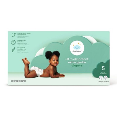 Club Pack Diapers - Size 5 (69ct)- Cloud Island™