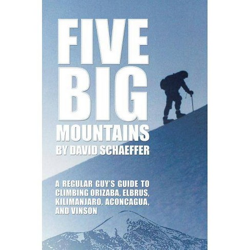 Five Big Mountains - by  David Schaeffer (Paperback) - image 1 of 1