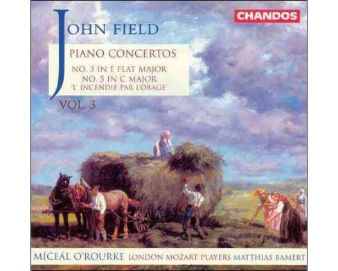 O'rourke & lmp & bamert - Field:Piano concertos vol 3 (CD) - image 1 of 1