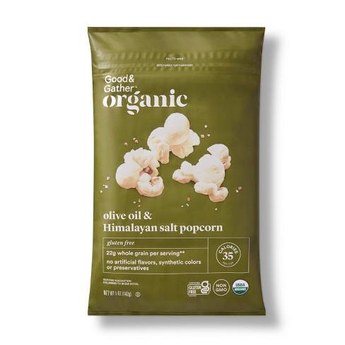 Organic Olive Oil & Himalayan Salt Popcorn - Good & Gather™ - image 1 of 3