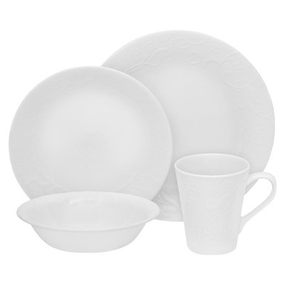 Corelle® Embossed™ 16pc Dinnerware Set Bella Faenza