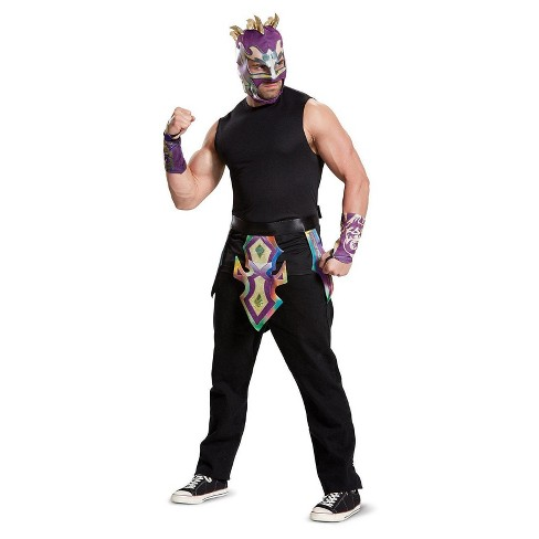 Mens Wwe Kalisto Adult Costume Kit One Size Target