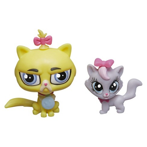 Littlest Pet Shop Pet Pawsabilities Gunther Moody & Getrude Catterson - image 1 of 2