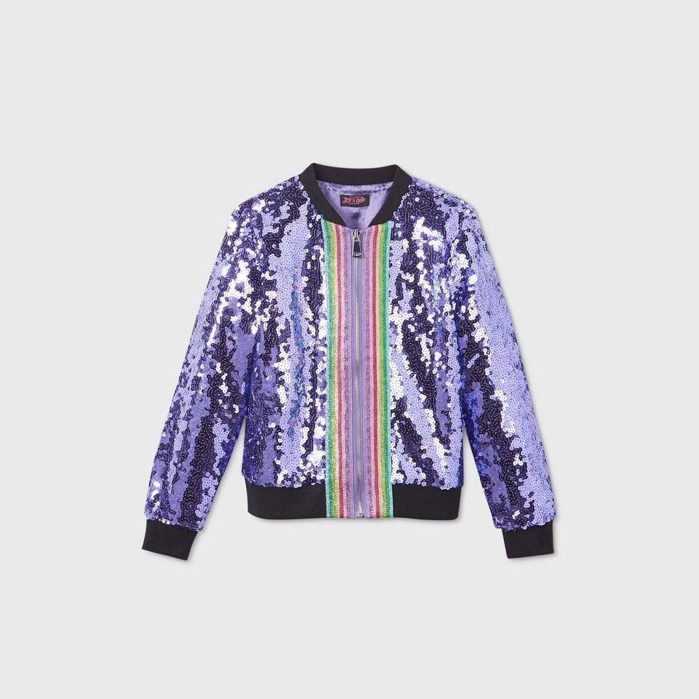Reviews Girls' JoJo Siwa Sequin Drea Bober Jacket -