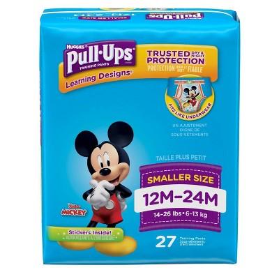 Huggies Pull-Ups Boys' Learning Designs Training Pants Jumbo Pack - Size 12-24M (27ct)