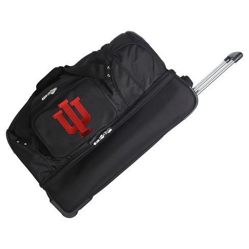 NCAA Indiana Hoosiers 27''  Rolling Drop Bottom Weekender Bag - image 1 of 2