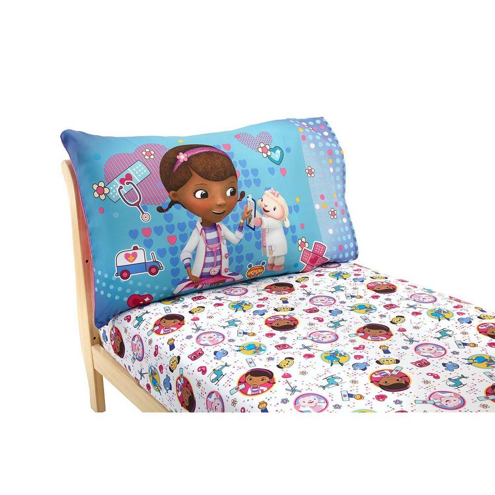 Image of Doc McStuffins 2pc Toddler Sheet Set