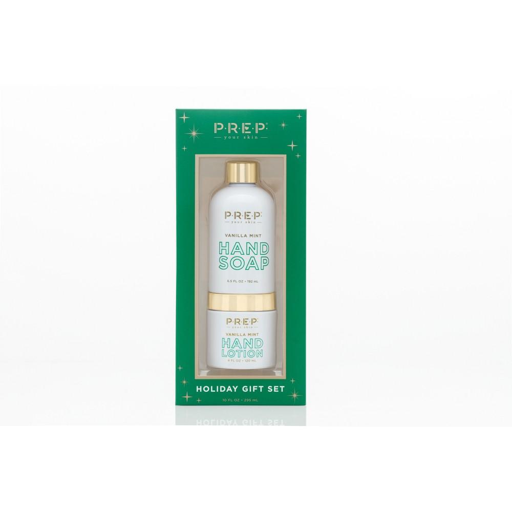 Prep Cosmetics Vanilla Mint Soap and Lotion Set - 10oz