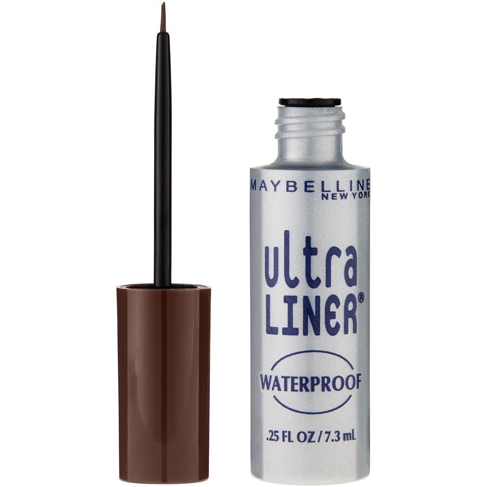 Image of Maybelline Ultra Liner Waterproof Liquid Eye Liner 02 Dark Brown 0.25 fl oz