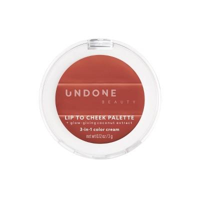 UNDONE BEAUTY Lip To Cheek 3-in-1 Cream Tint - 0.12oz