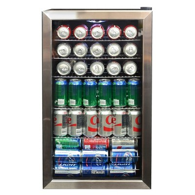 NewAir 126-Can Beverage Cooler - Stainless Steel AB-1200