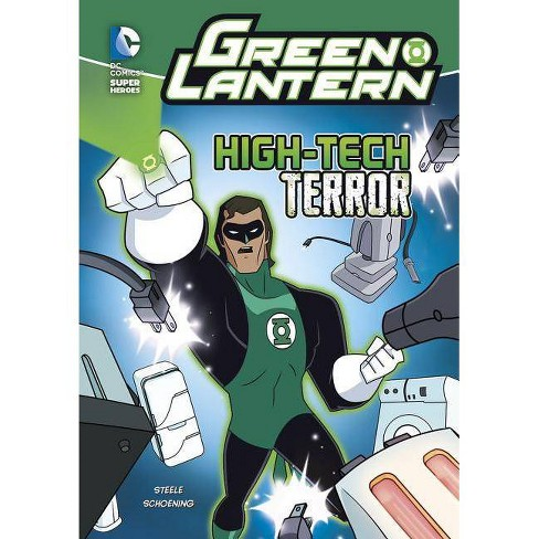 High-Tech Terror - (Green Lantern) by  Michael Anthony Steele (Paperback) - image 1 of 1
