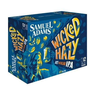 Samuel Adams Wicked Hazy IPA Beer - 12pk/12 fl oz Cans