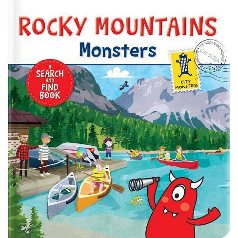 Rocky Mountains Monsters - (Board_book) - image 1 of 1