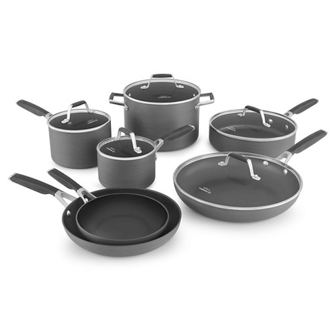 Select by Calphalon 12pc Hard-Anodized Non-Stick Cookware Set - image 1 of 5
