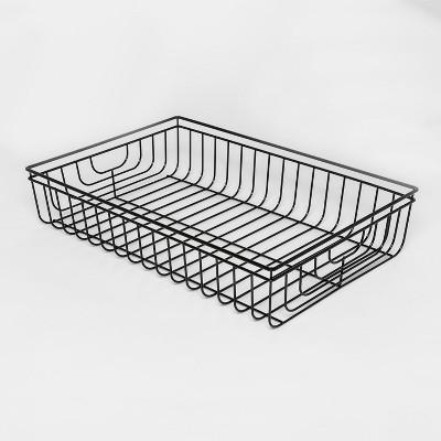 Decorative Wire Tray - Black - Project 62™