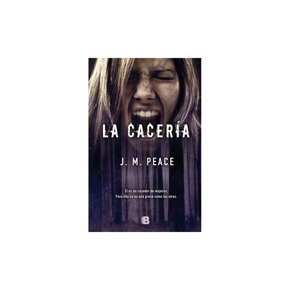 La cacería / A Time to Run - by J. M. Peace (Paperback)