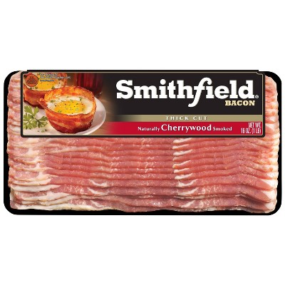 Smithfield Cherrywood Thick Cut Bacon - 16oz