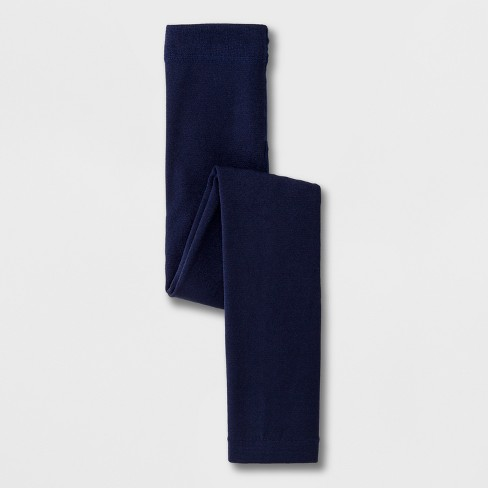 298eed32e Girls  Fleece Lined Footless Tights - Cat   Jack™ Navy. Shop all Cat   Jack™