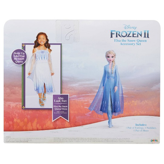 Disney Frozen 2 Elsa the Snow Queen Accessory Set image number null