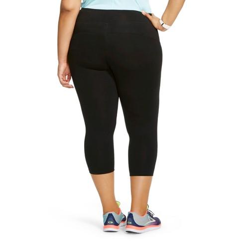 727fa4c30af1f Women's Plus Size Everyday Mid-Rise Capri Leggings 20