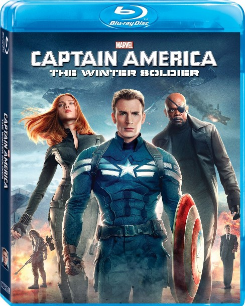 Captain America: The Winter Soldier [Blu-ray] - image 1 of 1