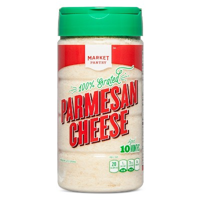 Grated Parmesan Cheese - 8oz - Market Pantry™