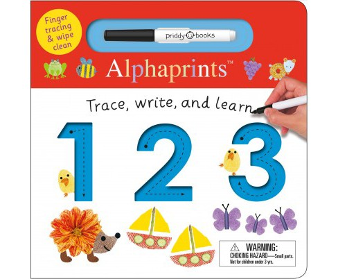Trace, Write, and Learn 123 (Hardcover) (Ellie Boultwood & Robyn Newton & Amy Oliver) - image 1 of 1