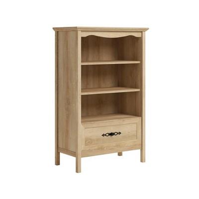 "51.41"" 2 Open Shelves Adaline Café Vertical Bookcase with Storage Orchard Oak - Sauder"
