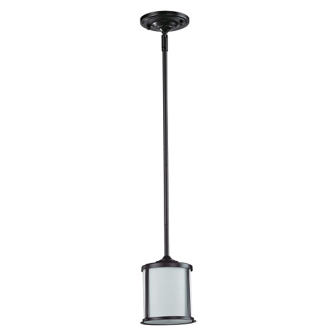 Mini Pendant with Matte Opal Glass Ceiling Lights - Z-Lite - image 1 of 1