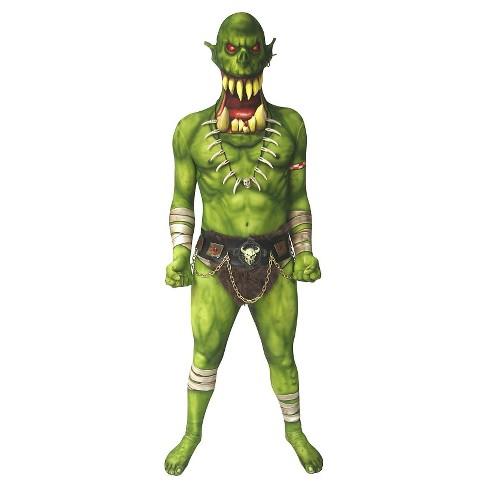 Men's Green Demon Costume - image 1 of 1