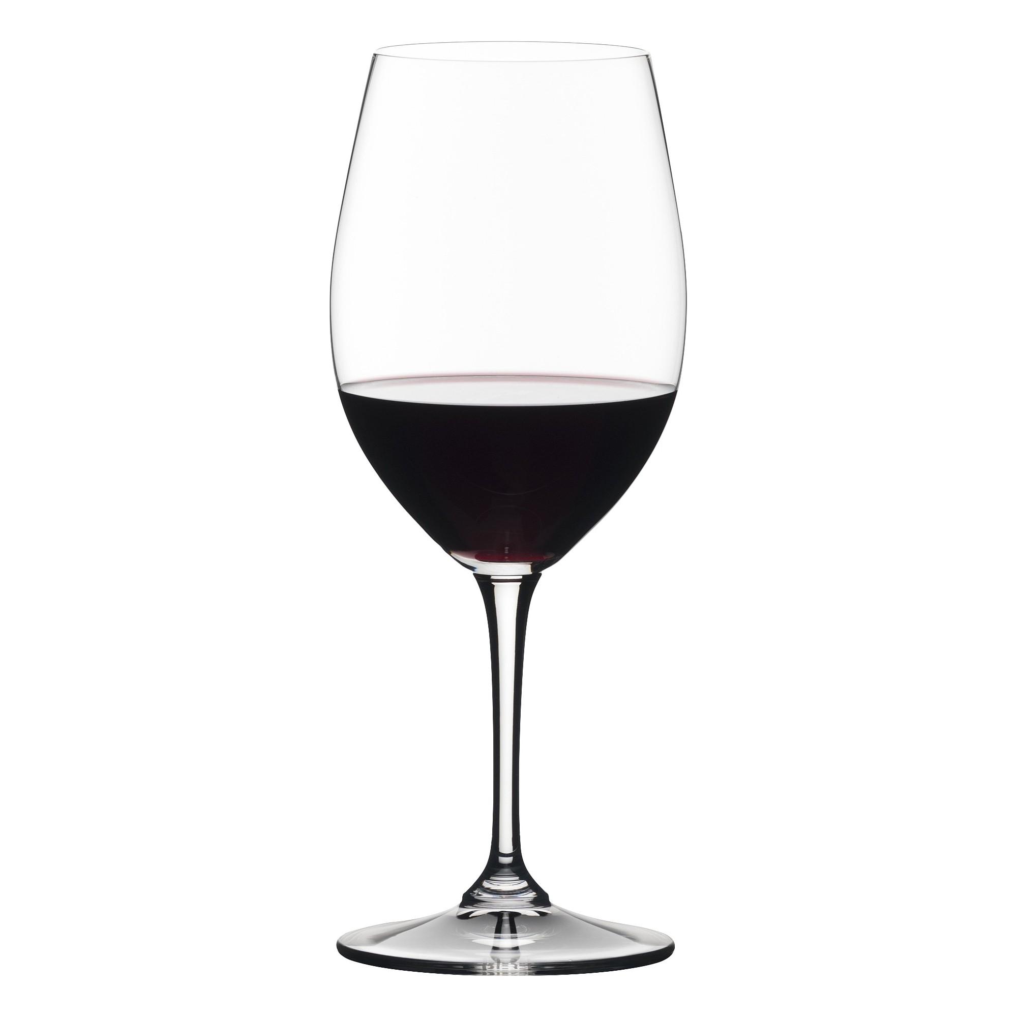 Riedel Vivant 4pk Red Wine Glass Set 19.753oz, Clear