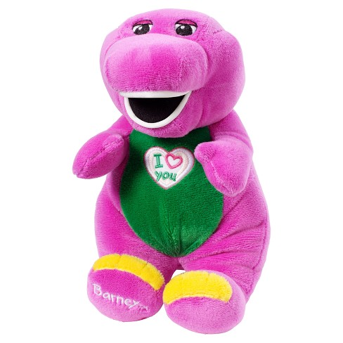 Fisher Price Barney And Friends Barney 10 Plush Doll Target
