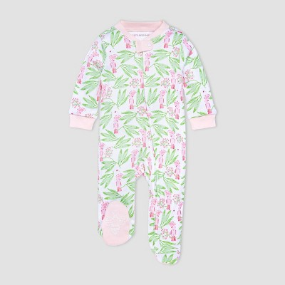 Burt's Bees Baby® Baby Girls' Island Bird Sleep N' Play - Pink/Yellow