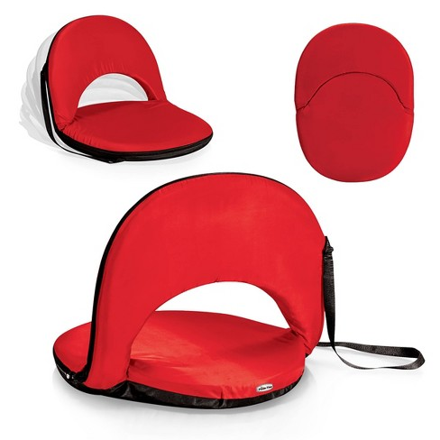Picnic Time Metro Portable Reclining Seat - Red - image 1 of 4